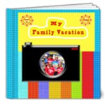 my family vacation book - 8x8 Deluxe Photo Book (20 pages)