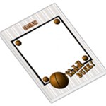 basket ball notepad lg - Large Memo Pads