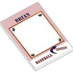 baseball notepad - Large Memo Pads