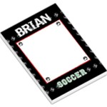 soccer notepad - Large Memo Pads