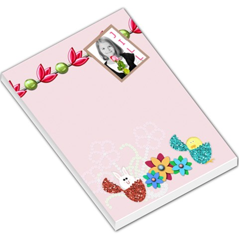 Cute Easter Notepad By Danielle Christiansen   Large Memo Pads   6820eqjmbq7i   Www Artscow Com