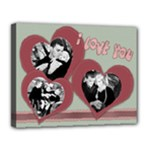 valentine decoration canvas for home - Canvas 14  x 11  (Stretched)