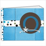 Blue Brown Book - 7x5 Photo Book (20 pages)