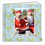 8 x 8 Christmas Book - 8x8 Photo Book (20 pages)