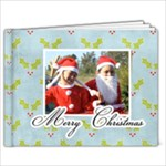9 x 7 Christmas Book - 9x7 Photo Book (20 pages)