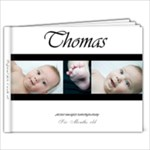 tommy 6months - 9x7 Photo Book (20 pages)