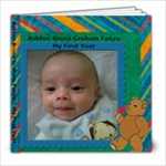 Ashton Bruce Graham Fonzo / My First Year - 8x8 Photo Book (20 pages)