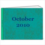 oct 10 - 9x7 Photo Book (20 pages)