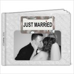 Just Married 9x7 Photo Book - 9x7 Photo Book (20 pages)