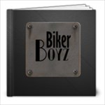Biker Boys Scrapbook - 8x8 Photo Book (20 pages)