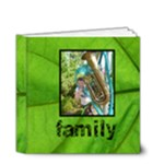 Family Simple Sentiments Classic 4 x 4 deluxe album - 4x4 Deluxe Photo Book (20 pages)