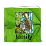 Family Simple Sentiments Classic 6 x 6 deluxe album - 6x6 Deluxe Photo Book (20 pages)