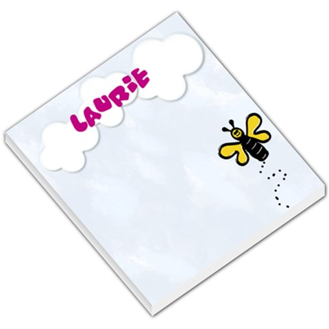 Bee Notepad By Danielle Christiansen   Small Memo Pads   5pltoahwilhr   Www Artscow Com