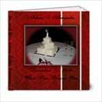 wedding book 1 - 6x6 Photo Book (20 pages)