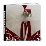 Wedding Book 2 - 6x6 Photo Book (20 pages)