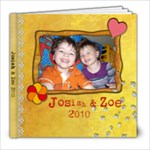 Josiah Zoe 2010 - 8x8 Photo Book (20 pages)