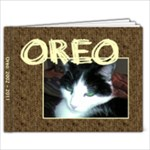 Oreo - 7x5 Photo Book (20 pages)