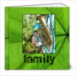 Family Simple Sentiments Classic 8 x 8 album 39 pages - 8x8 Photo Book (39 pages)