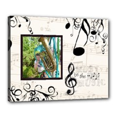 Must be the Music 20 x 16 stretched canvas - Canvas 20  x 16  (Stretched)