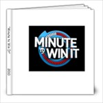 Minute to Win It - 8x8 Photo Book (20 pages)