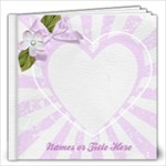 Love Notes 12x12 Book - 12x12 Photo Book (20 pages)