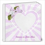 Love Notes 8x8 Book - 8x8 Photo Book (20 pages)