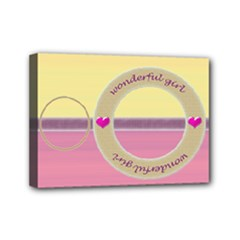 Wonderful girl streched canvas 7x5 - Mini Canvas 7  x 5  (Stretched)