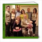 Family Holidays 2010/Sheehan Anniversary - 8x8 Photo Book (20 pages)