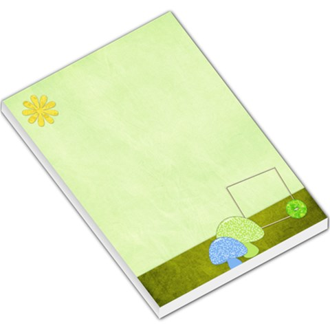 Spring Cuties Large Memo Pad 1 By Lisa Minor   Large Memo Pads   Hko0jd5nbsxq   Www Artscow Com