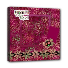 Girl Power 8x8 Canvas - Mini Canvas 8  x 8  (Stretched)