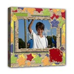 Primary Cardboard 8x8 canvas 1 - Mini Canvas 8  x 8  (Stretched)