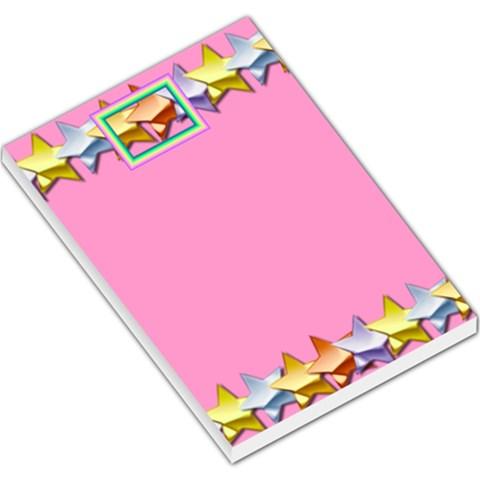 Pink Party Memopad By Daniela   Large Memo Pads   1whia16kxej6   Www Artscow Com