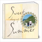 Sweet Days of Summer 8 x 8 20 page book - 8x8 Photo Book (20 pages)