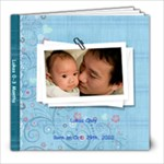 Lukas 0-3 mo - 8x8 Photo Book (39 pages)