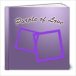 Purple of love - 8x8 Photo Book (20 pages)