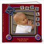 The year of the toddler - Tysend - 12x12 Photo Book (40 pages)