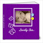 8 x 8 Photo book 20 Pages - Purple  - 8x8 Photo Book (20 pages)