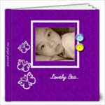 12 x 12 Photo book 20 Pages - Purple  - 12x12 Photo Book (20 pages)