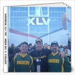 Superbowl Memories - 12x12 Photo Book (20 pages)