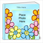 Hearts and Flowers General purpose 8x8 20 page Book - 8x8 Photo Book (20 pages)