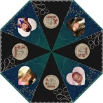 Beauty- Destiny -Faith & Peace Folding Umbrella