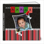 ammar - 8x8 Photo Book (20 pages)