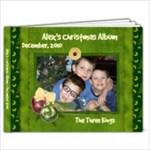 Alex s 5x7 Christmas Album - 7x5 Photo Book (20 pages)