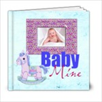 Baby Mine 20 page 6 x 6 Album Boy or Girl - 6x6 Photo Book (20 pages)