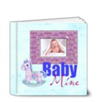 Baby Mine 20 page 4 x 4 deluxe Album Boy or Girl - 4x4 Deluxe Photo Book (20 pages)
