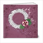 6x6 Purple Gardens Album- template - 6x6 Photo Book (20 pages)