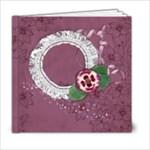 6x6 Purple Gardens Album- template - 6x6 Photo Book (20 pages)