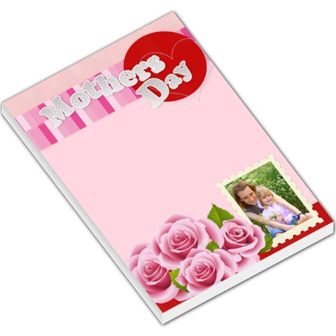 Mothers Day By Joely   Large Memo Pads   Up29rmckqrfq   Www Artscow Com