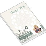 Thank you - Large Memo Pads