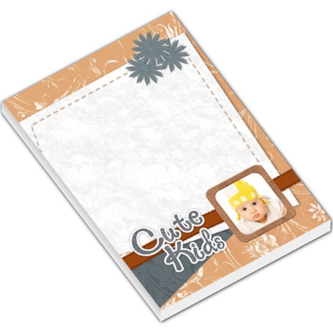 Cute Kids By Wood Johnson   Large Memo Pads   G85wz24j649u   Www Artscow Com